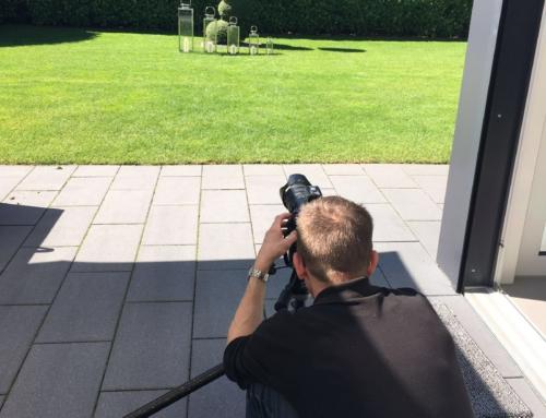 Die neuen home+ Edelstahllaternen – das Fotoshooting