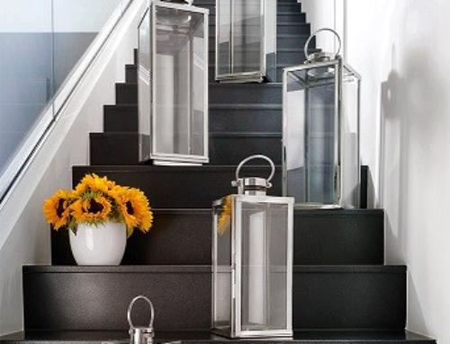 Neu & Größer: Die neuen home + Flachdach Edelstahllaternen