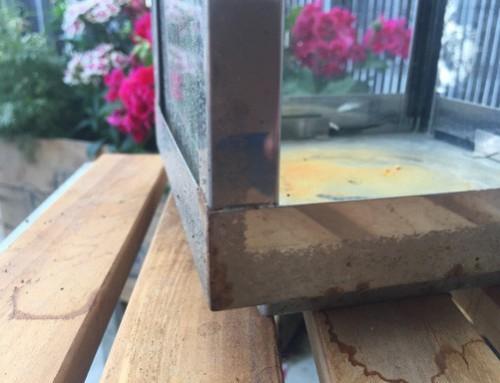 Flugrost entfernen Home+ Laternen